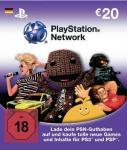 Playstation Network Card 20€ - 2 Stück für 29,42€