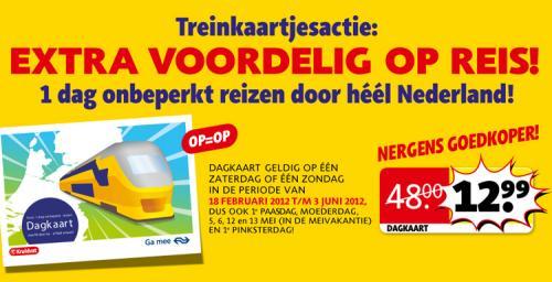 Niederlande Tagesticket bei Kruidvat