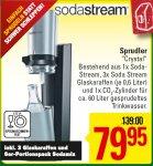 [regional] Sodastream Crystal inkl. 3 Glaskaraffen (Osnabrück, Bremen, Hannover u.a.)
