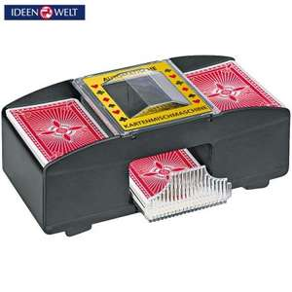 [LOKAL?] [Rossmann] Kartenmischgerät für 1,50 Euro (inkl. 4 Batterien)