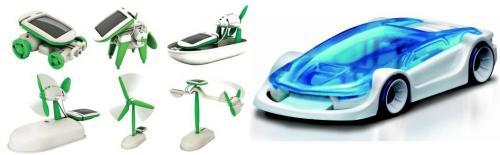Solar-Spielzeug + Slazwasser-Modellauto im Paket für 17,99EUR versand frei haus