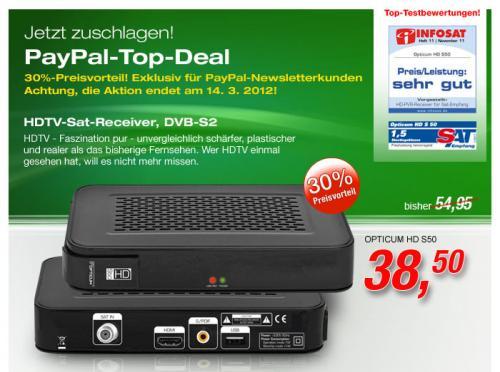Einfacher HD-Satreceiver für ~45 Euro incl. VSK