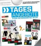 [Saturn Berlin & Potsdam) Tagesangebot Mad Men Staffel 1 - 7 & Suits Staffel 1 - 4 DVD