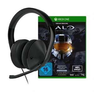 Microsoft Xbox One Stereo Headset   +  Halo - The Master Chief Collection