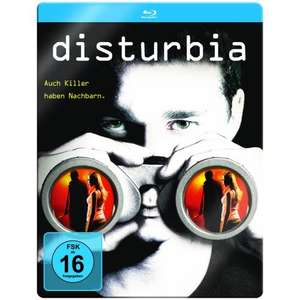 [ Blu-ray ] Disturbia (limited Steelbook Edition) für 8,99 EUR inkl. Versand @ Amazon.de