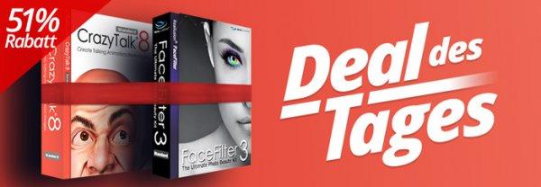 Nur 24 Stunden: CrazyTalk & FaceFilter 39,00€ statt 78,99€