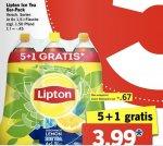 [LIDL] Lipton Eistee 6x1,5 Liter für 3,99 Euro