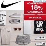 Qipu: 18% Cashback auf alle Artikel im Nike Online Store