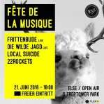 (lokal Berlin) Frittenbude auf der Fete de la Music // Open Air für Umme (21.06.16)