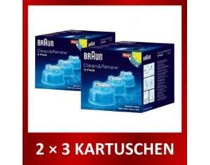 [MeinPaket] [OHA] 6x Braun CCR Cleaning cartridge