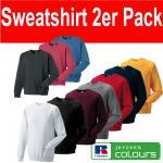 2 Russell Sweatshirt Unisex Vintage Shirt S M L XL XXL