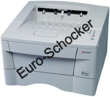 Kyocera FS-1020D Laserdrucker mit Duplex für 31,50€ -Duplex Drucker !!