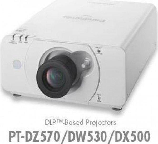 Panasonic PT-DW530E DLP Projektor (Kontrast 2000:1, 4000 ANSI Lumen, WXGA 1280 x 800 Pixel)  (Amazon WHD)