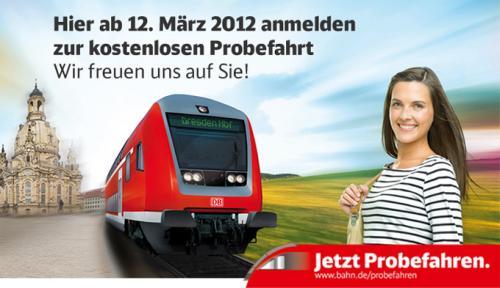 Bahn: Probefahren (Thüringen / Sachsen / Sachsen-Anhalt)