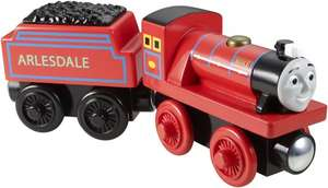 "Fisher-Price™ - Holz-Lokomotive ""Thomas und seine Freunde (Mike)"" ab €4,90 [@Amazon.de/Mediamarkt.de]"