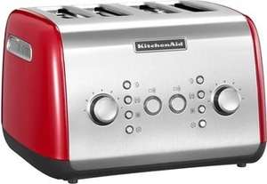 Idealo 159 Comtech Kitchenaid 4 x Fach Toaster Empire Rot