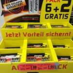 Kaufland Berlin Gesundbrunnen Energizer max AA oder AAA 8 Stück Batterien