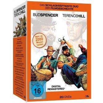 Müller (online): Bud Spencer/Terence Hill 20 DVD Monsterbox für 29,99€