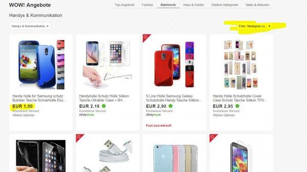 Ebay plus Jahresmitgliedschaft bei Ebay Plus für 1 Euro oder Kostenlos beim Kauf eines WOW! Angebots