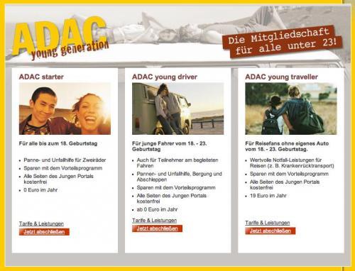 ADAC-Mitgliedschaft für Mofa/Roller und Auto-Neulinge