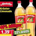 Almdudler Kräuterlimonade zwei Liter für nur 1,39€ bei [Norma]