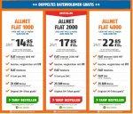 Klarmobil Allnet-Spar-Flat 2GB/4GB im Telekom-Netz 17,85 - 22,85 + Gratis DFB Trikot