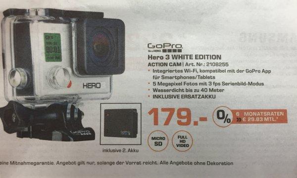 [Saturn Darmstadt] GoPro Hero 3 White mit Zusatzakku