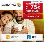 [Qipu] Vattenfall: 75€ Cashback für Deinen Stromabschluss / 35€ Cashback für Deinen Gasabschluss