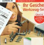 Werkzeugset 22 Teile + Hörbuch für 0,49€ inkl. Porto by Weltbild