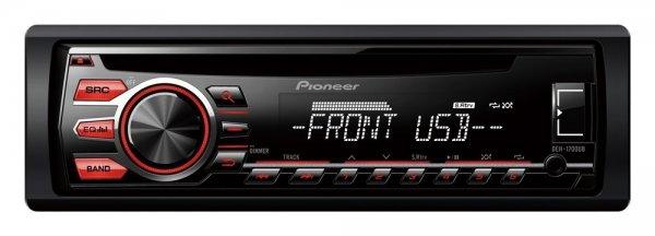 Pioneer DEH-1700UB CD-Tuner Autoradio (RDS, USB, Aux-Eingang,Ausgangsleistung/Kanal: 50 Watt) für 44,99 € @ Saturn.de