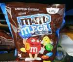 "[REWE Gau-Odernheim] ""M&Mx27s Choco Mega"" Abverkauf MHD"