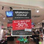 50% auf alles bei Buttlers in der Mall of Berlin