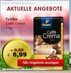 [PL Travelfree]  Caffè Crema Mild oder Vollmundig 1kg für 6,99€