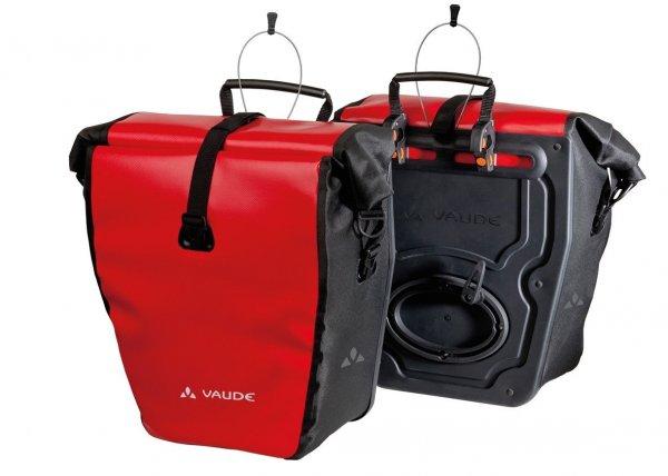 VAUDE Radtasche Aqua Back (Paar) rot/schwarz 48L, Amazon.de: 65€