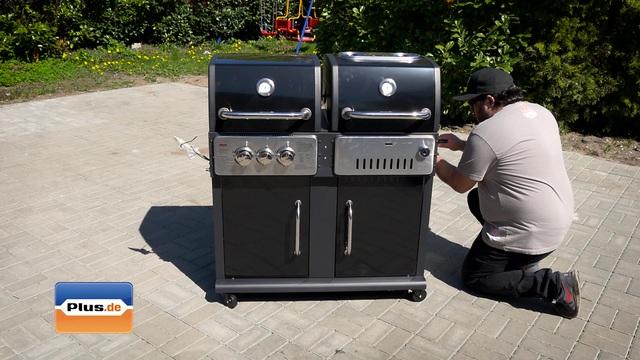 El Fuego Cheyenne AY 443 Gas/Holzkohle-Kombigrill für 467,95€