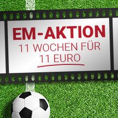 Ideal für die EM: 11 Wochen Save.TV XL für 11€