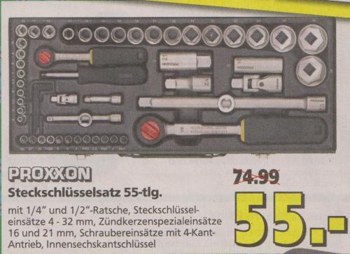 [Offline] Proxxon 23040 Komplett-Steckschlüsselsatz @Hela