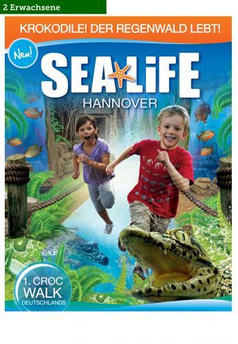 Eintritt Sea Life Berlin, München, Hannover und andere ab 6,90€ für 2 Erwachsene @ brands4friends