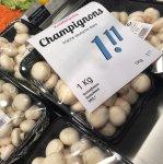 1 Kilo frische Champignons bei Edeka Struve 1,11,-