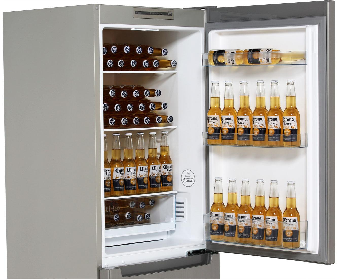 BOSCH Serie 2 Kühl-Gefrierkombination mit No Frost und Multi Airflow-System in Edelstahl-Optik, A++ für 439 € inkl. Versand bis in die Küche [ao]