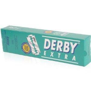 100 Derby-Rasierklingen