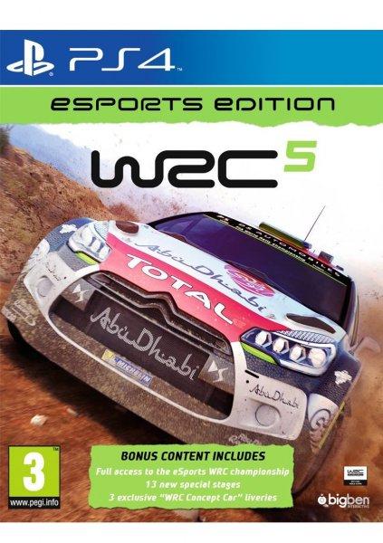 [SimplyGames] WRC 5: eSports Edition (inkl. Bonusmaterial) (PS4) für 18,53€