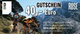 Abo: zwölf- plus zweimal Tour Magazin inklusive 40 Euro Rose-Gutschein für 49,50 Euro
