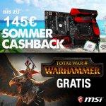 Mainboard+CPU Deal - Cashback + Gratis Headset + Total War Warhammer!