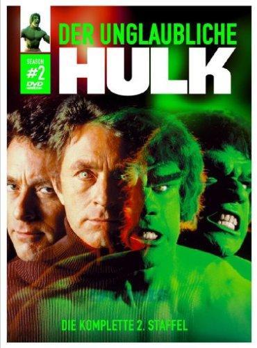 Der unglaubliche Hulk Staffel 1 bis 5 (DVDs) für je 9,99€ @Saturn