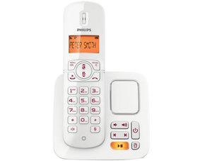 Philips CD 186 Schnurloses Telefon mit AB nur 26,99 € @MeinPaket.de