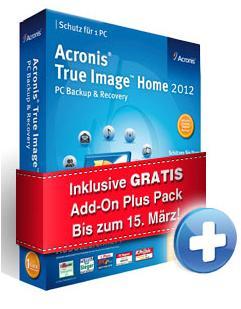 Acronis True Image Home 2012 inkl. Plus Pack für 29,95 EUR @ EDV-Buchversand