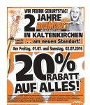 [Lokal] 20% Auf Alles Globus Baumarkt Kaltenkirchen am 01.07 und 02.07
