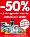 [Interspar Filialen - Österreich] 50% Rabatt auf alle lagernden Konsolen und Games ab dem 30.06.