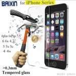 0.3mm 9H tempered glass For iphone 4s 5 5s 6 6s plus screen protector protective guard film front case cover +clean kits inkl Versand nur 0,66€